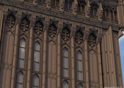 3d render c4d big ben detalle ventanas