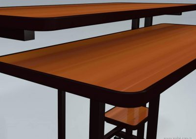 3d render c4d mesa para pc tablas