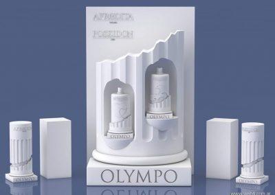 3d render c4d packaging para perfumes sin materiales ni texturas