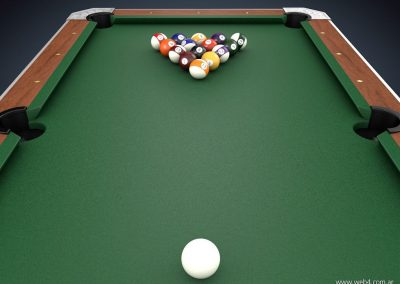 3d render c4d pool inicio
