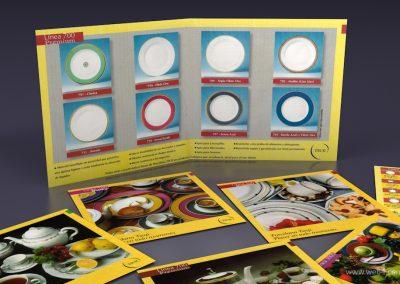 diseño catalogo de productos porcela tsuji