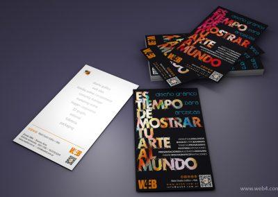 diseño flyer promocional web4