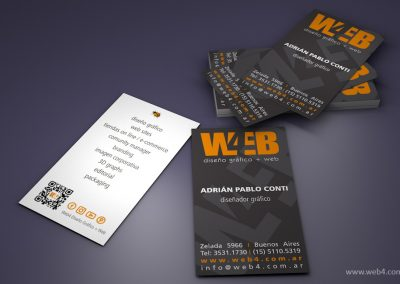 diseño tarjetas personales web4