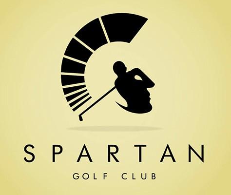 logo spartan golf club