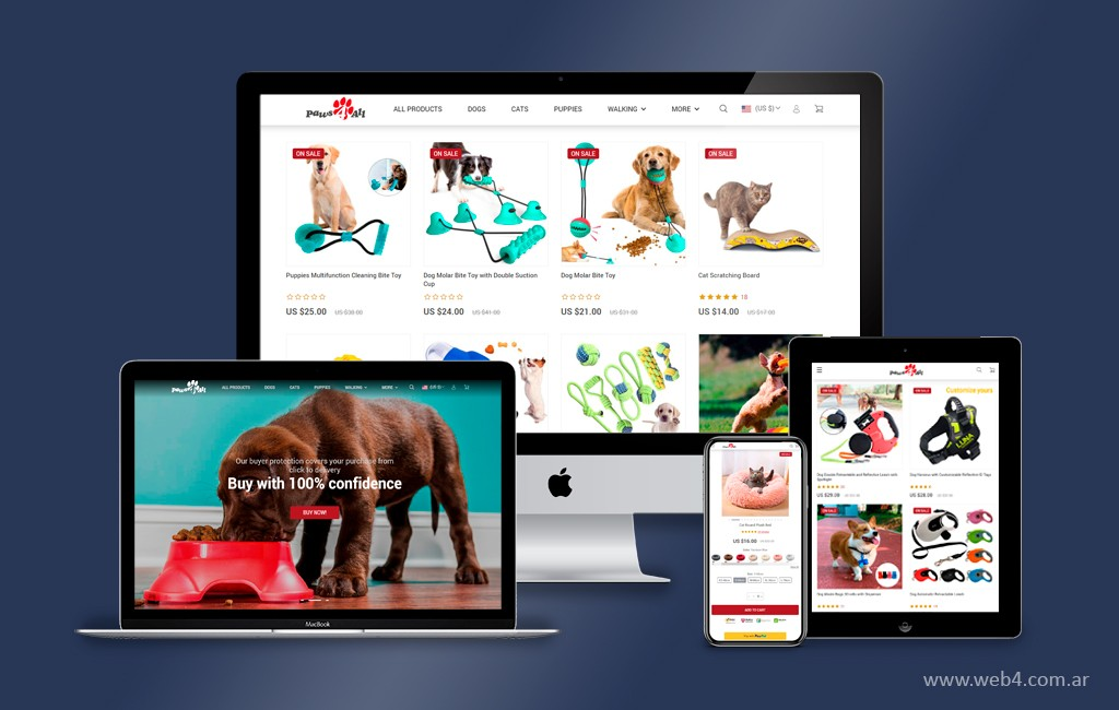 diseño pagina web tienda virtual gisela garcia gleria artista wordpress woocommerce