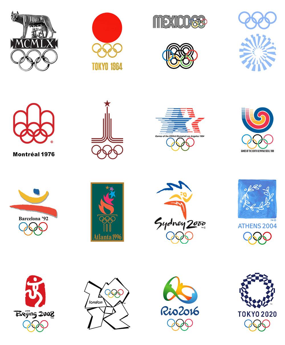 Emblemas Juegos Olimpicos