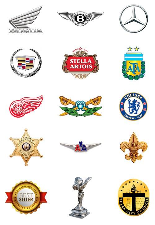 Insignias logos