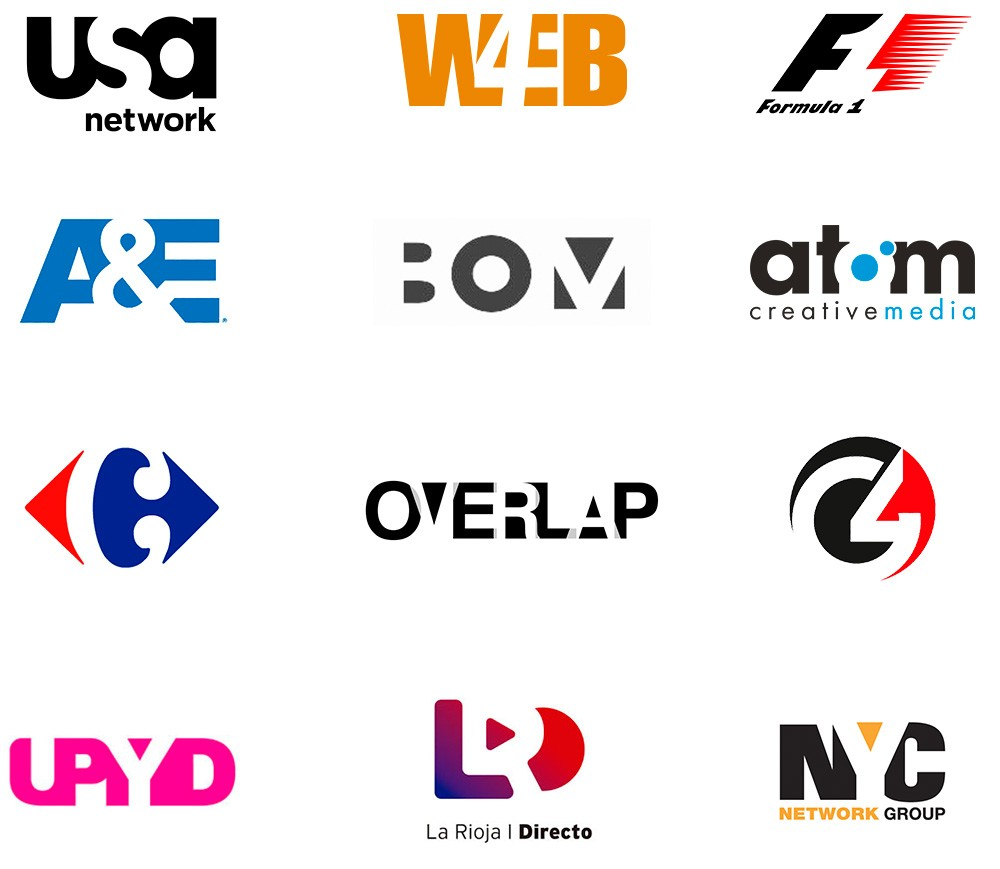 Logos con contraformas