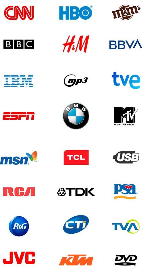 Logos con siglas