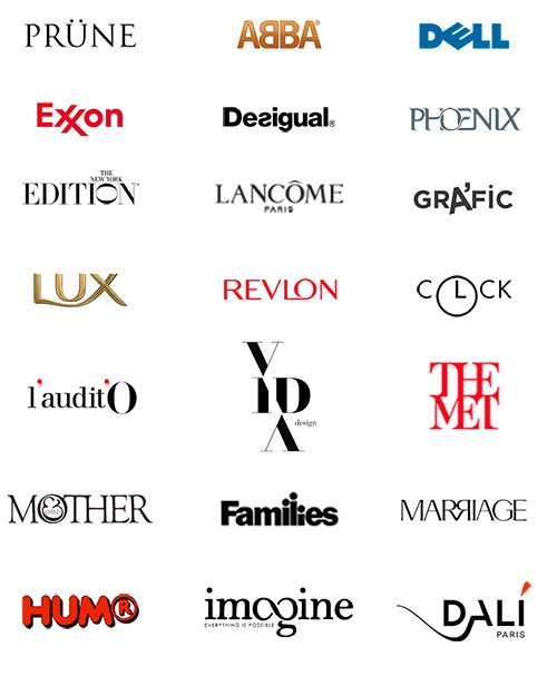 Logotipos con signos