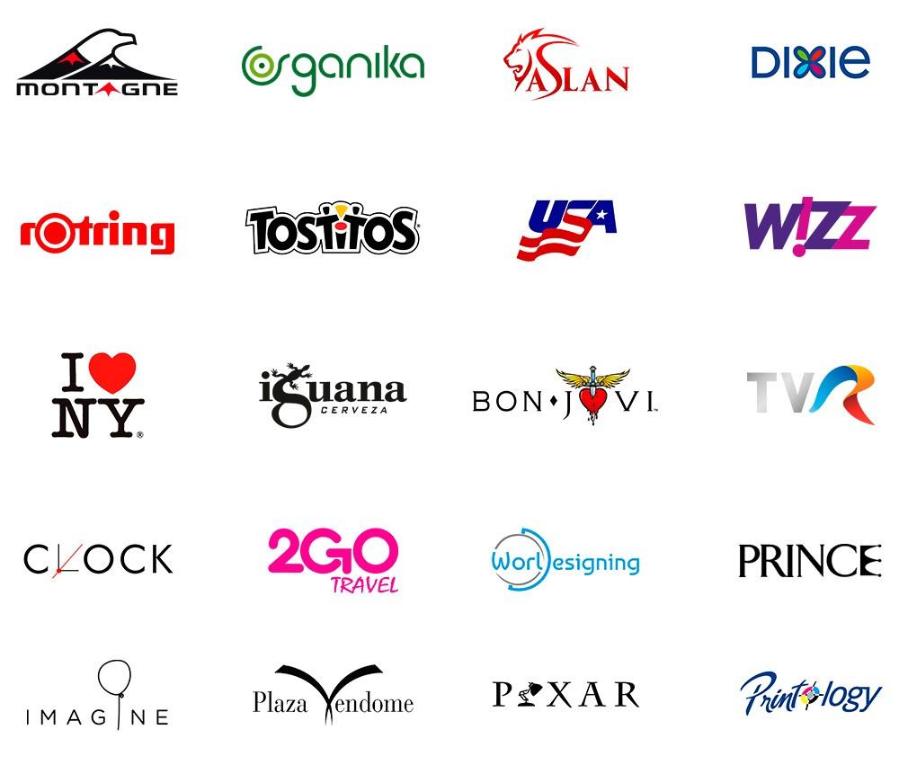 Logotipos con simbolos