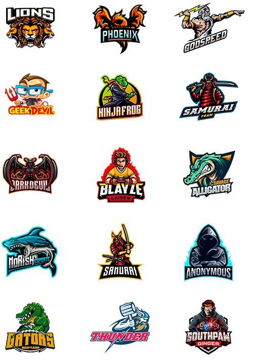 Mascot Logos for Gamers