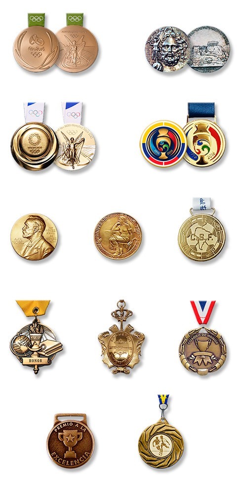 Medallas Logos