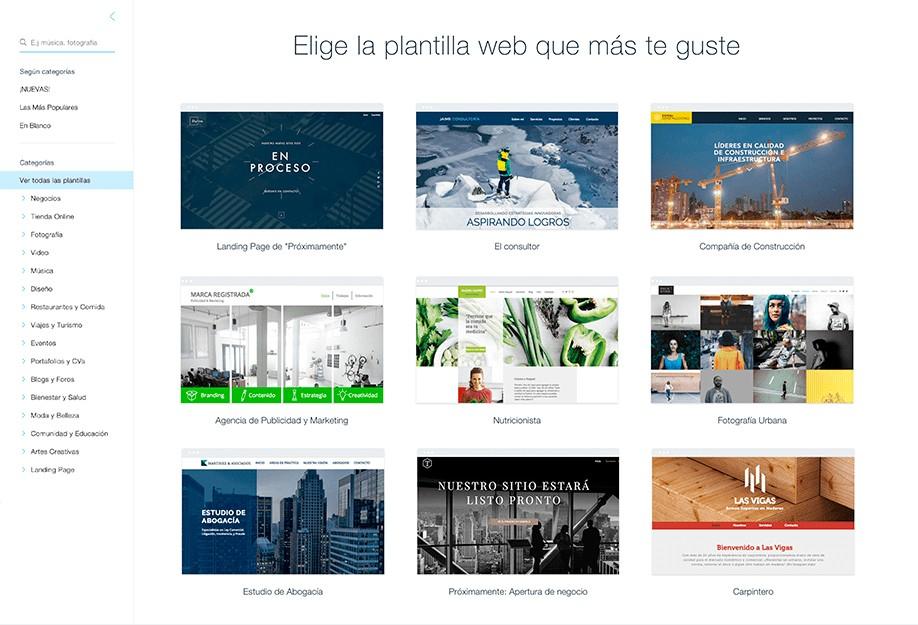 diseña tu propia web