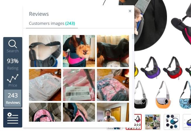 reseñas de productos