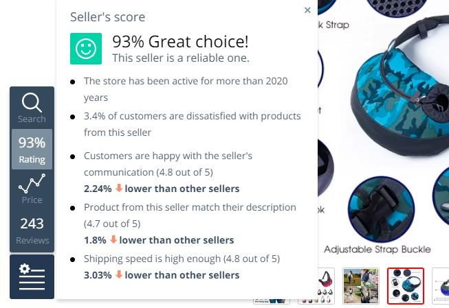 boton rating de productos